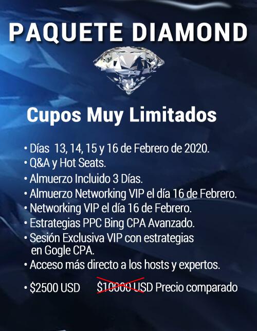 Paquete Diamante bta enero 2020-2
